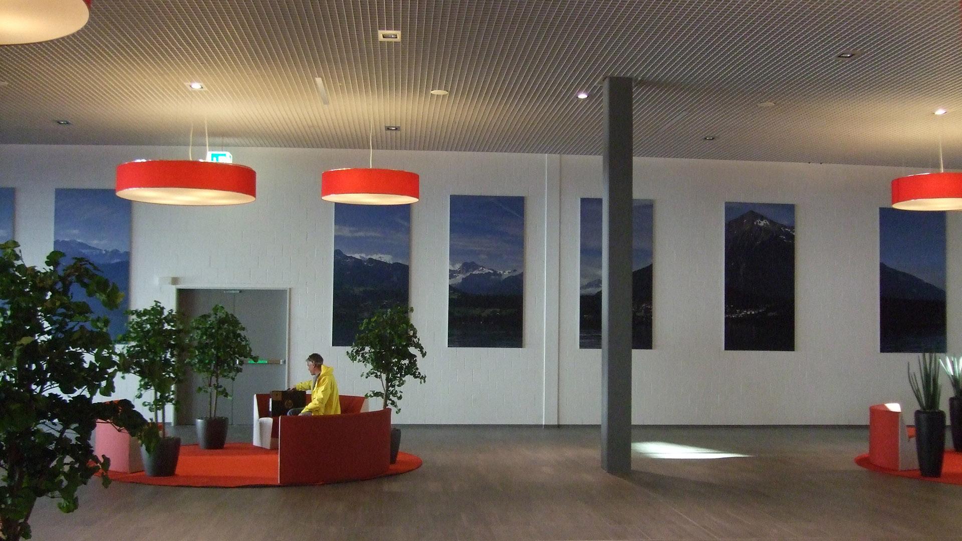 Panorama Center Thun – Raumgestaltung – metazona ag
